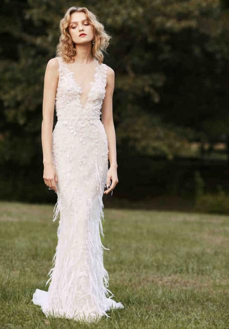 The 2019 Fall Wedding Dresses by Marchesa