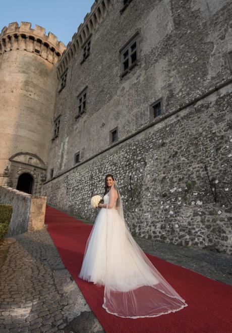 حفل زفاف سارة وشاهين في إيطاليا