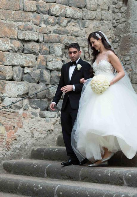 The Wedding of Sara and Shahin in Italy