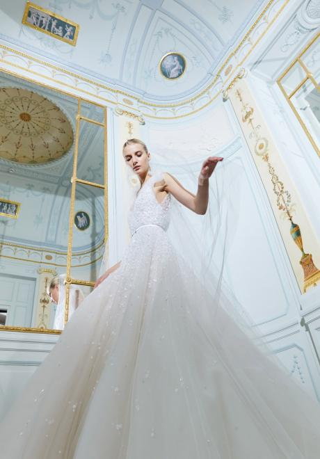 The Fall 2019 Wedding Dress Collection by Elie Saab