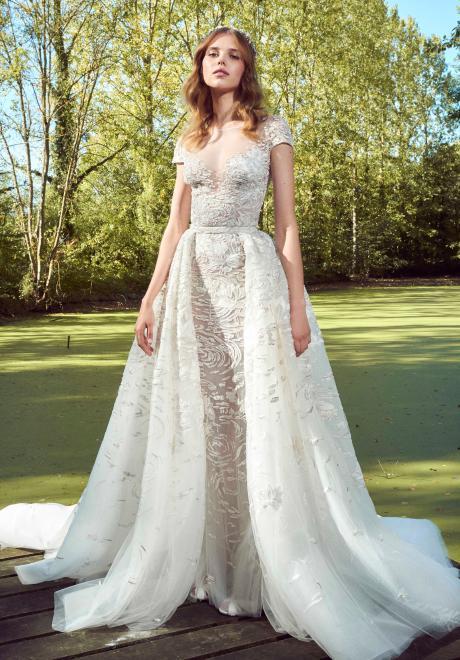 مجموعة فساتين زفاف زهير مراد لخريف 2019