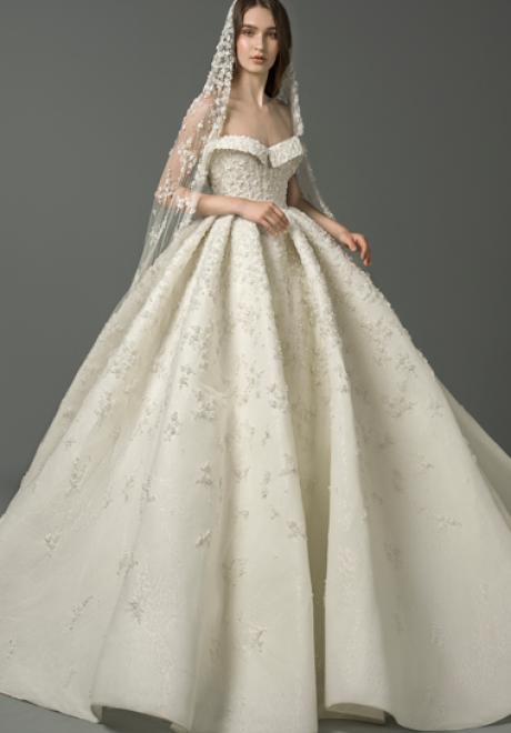 The 2019 Wedding Dresses by Saiid Kobeisy