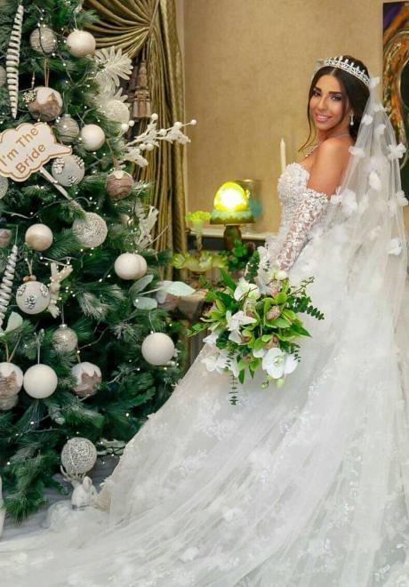 حفل زفاف كارين جزماتي وناجي خاروف في دمشق