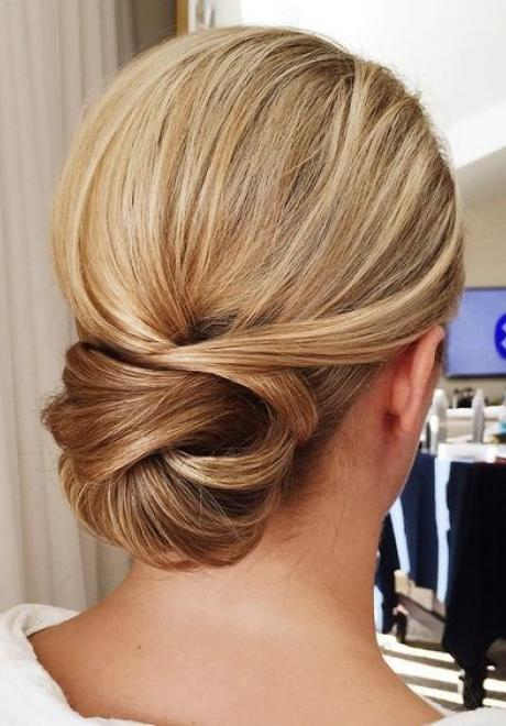 Elegant Polished Bridal Chignons