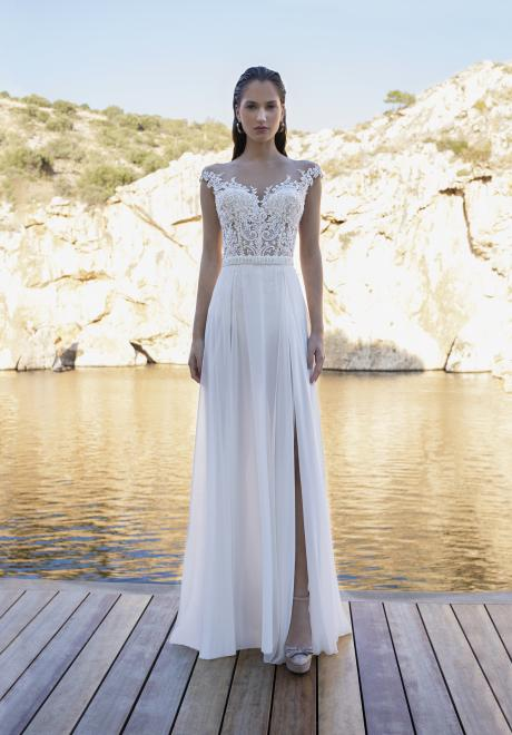 The Forget Me Not Bridal Collection by Demetrios for 2020