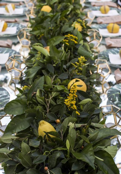 حفل أنيق بثيم ليلة حديقة الليمون من تنظيم ماي إيفينت ديزاين