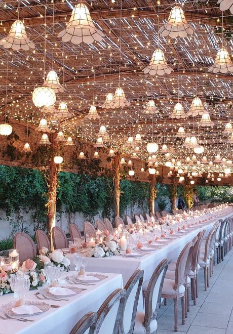 A Magical Shabby Chic Outdoor Wedding in Jordan
