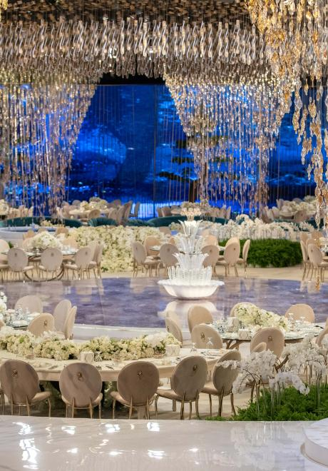 Endless Dream Wedding in Doha by Le Mariage