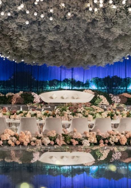 The Whispers Wedding in Doha by Le Mariage