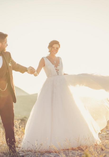 An Outdoor Mountain Wedding by Maya Toubia in Lebanon