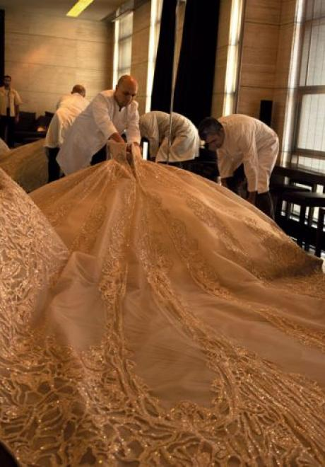 Elie Saab Jr and Christina Mourad's Luxury Wedding