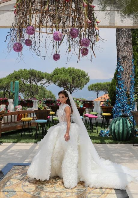 A Colorful and Happy Lebanese Wedding