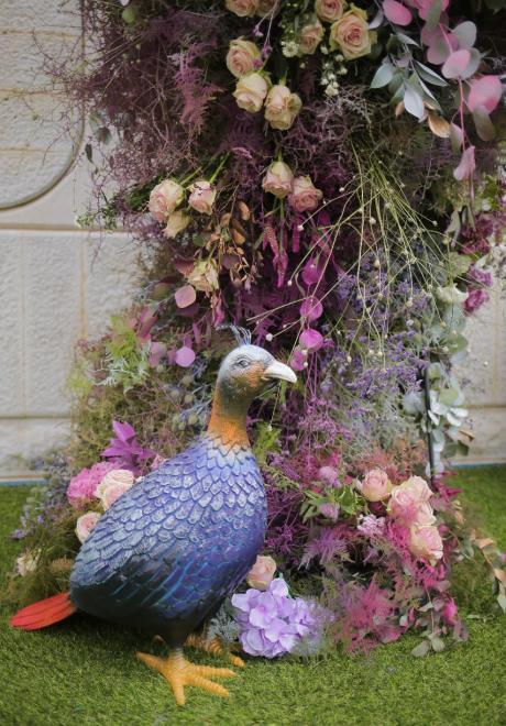 حفل زفاف فاخر بديكورات ملونة في لبنان