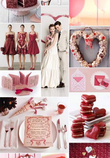 أفكار فريدة من نوعها لحفل زفاف رومانسي في عيد الحب