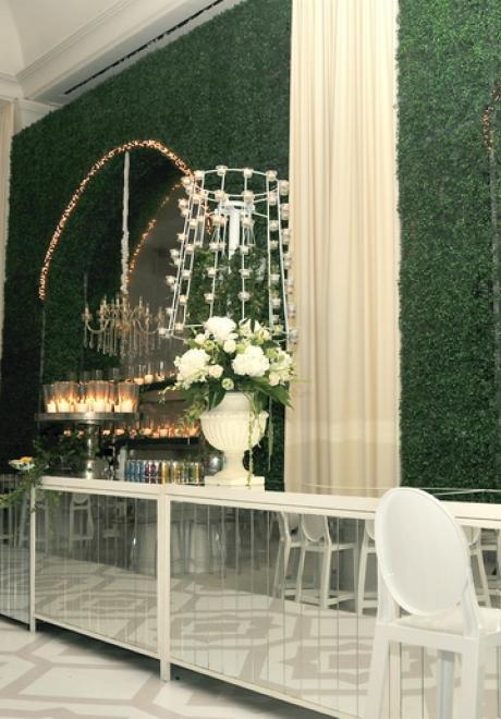 "Inside The ""Summer Garden Wedding"" of Farah Al Rayyan and Mohamed Halabi"