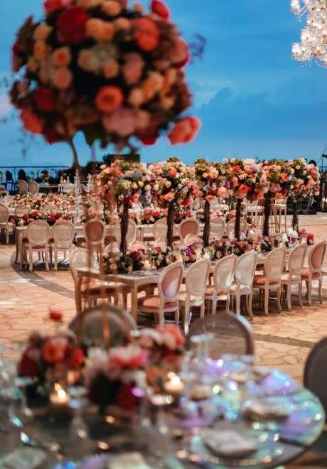 حفل زفاف بثيم الحديقة الساحرة في لبنان