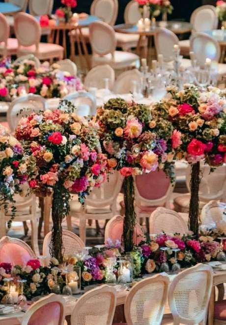 A Magical Garden Wedding in Lebanon
