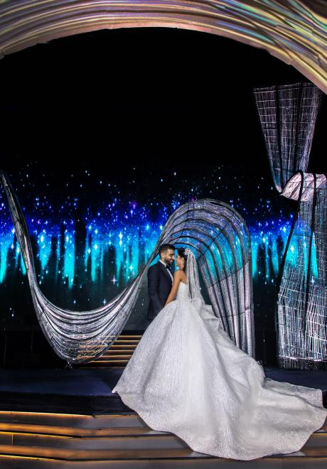 Light and Love Wedding by EyeCandy in Lebanon