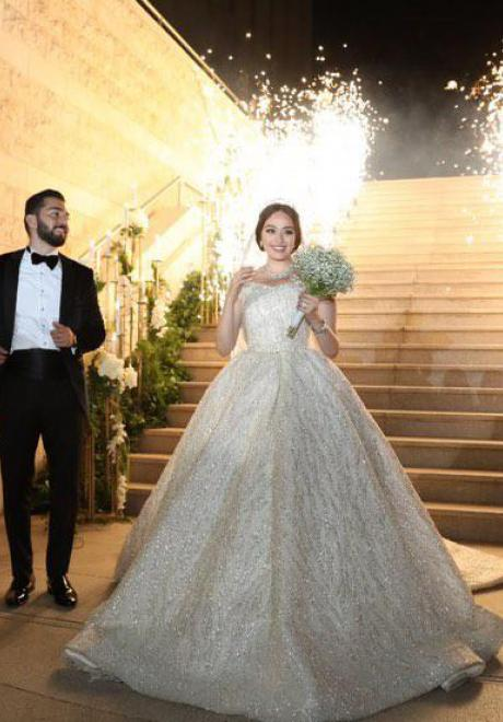 The Lovely Wedding of Suzan and Eid in Amman