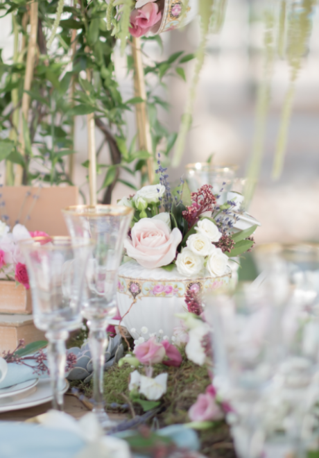 A Whimsical Alice in Wonderland Wedding Theme