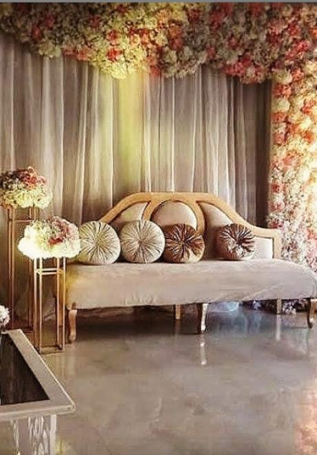 اجمل تصاميم كوشات افراح بسيطة مثالية للبيت