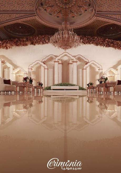 Beautiful Kosha Ideas by Arab Wedding Planners