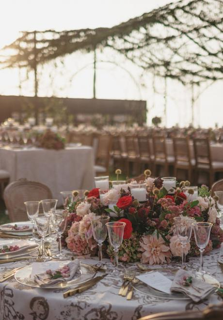 Under The Blush Sky Wedding by Lace Events