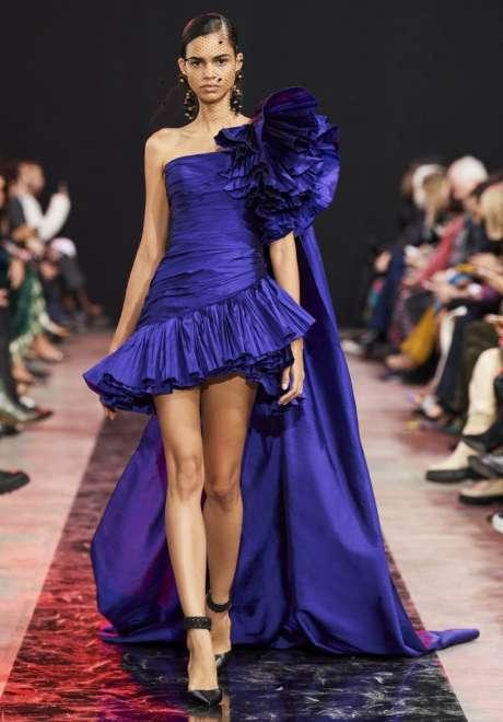 Short Engagement Dress Elie Saab 5