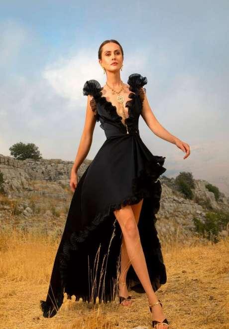 Short Engagement Dress Elie Saab