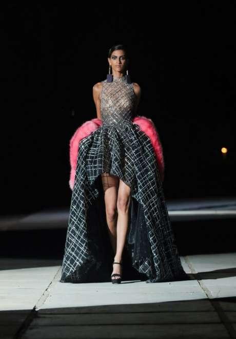 Short Engagement Dress Georges Hobeika 1