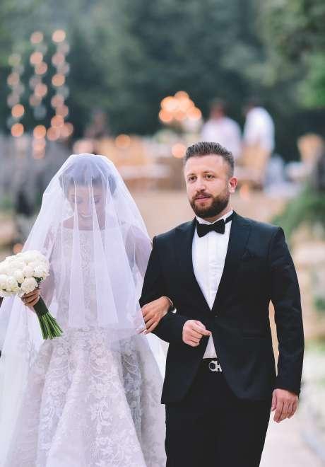An Elegant Rustic Wedding in Lebanon