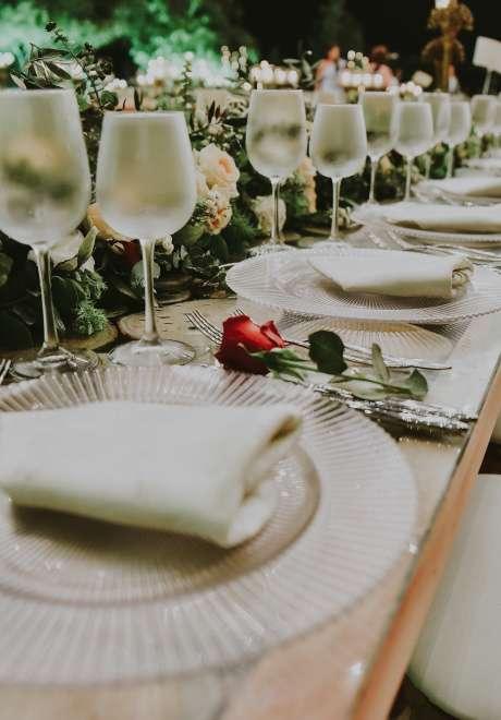 حفل زفاف ريفي أنيق في لبنان