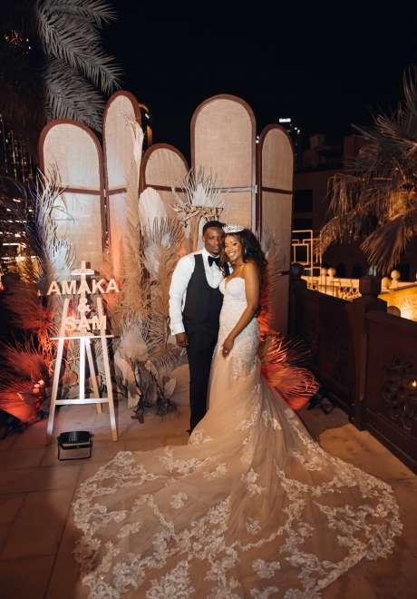 Amaka and Sam's Nigerian Wedding in Dubai
