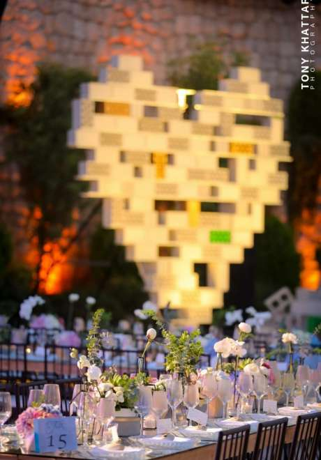 Building Blocks of Love Wedding in Lebanon