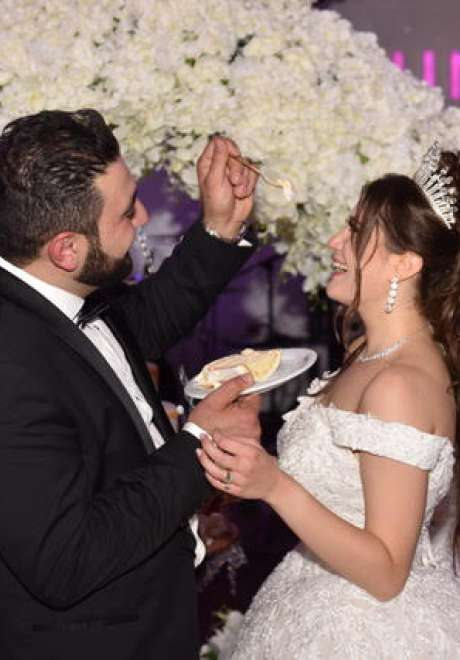 حفل زفاف سينثيا وآفو في ألمانيا