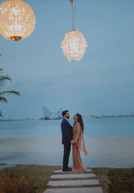 An Indian Wedding with a Rustic Theme in Dubai