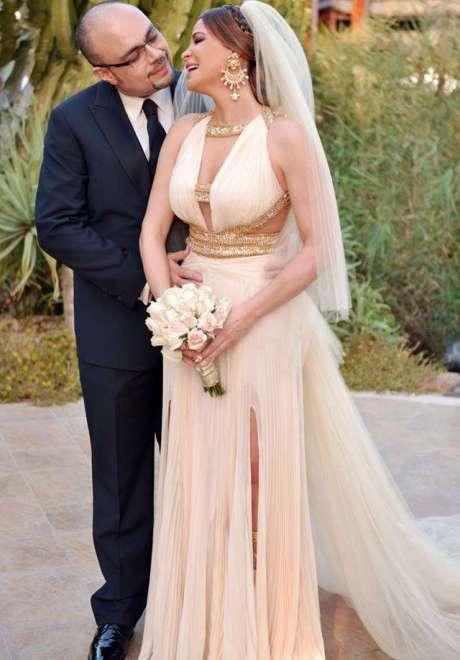 حفل زفاف كارول سماحة