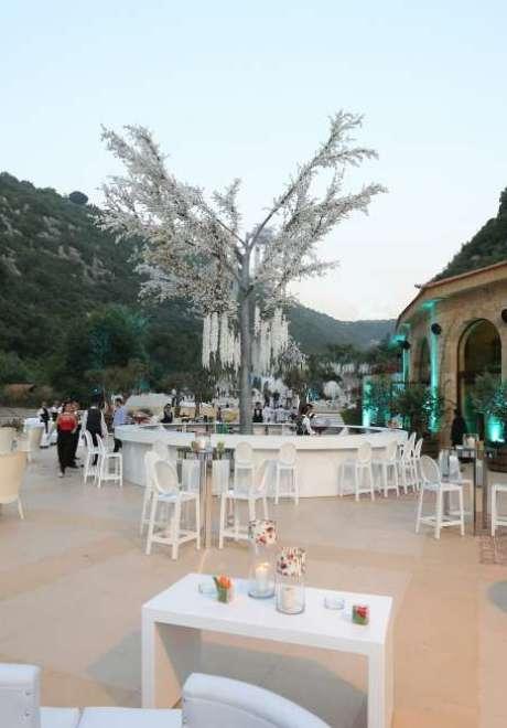 Majed and Rola Jarjoura's Volcanic Luxury Wedding
