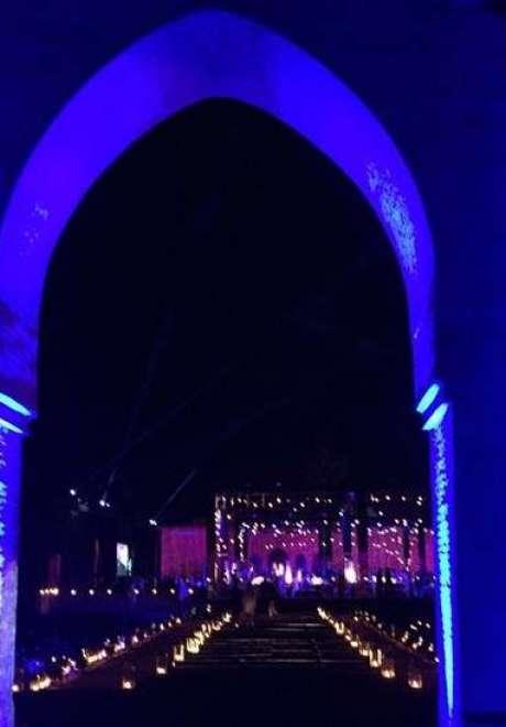 Malik Mikati and Reef Hashem's Wedding