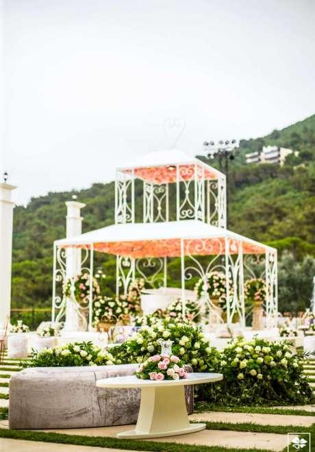 A Fairy Tale Garden Wedding in Lebanon
