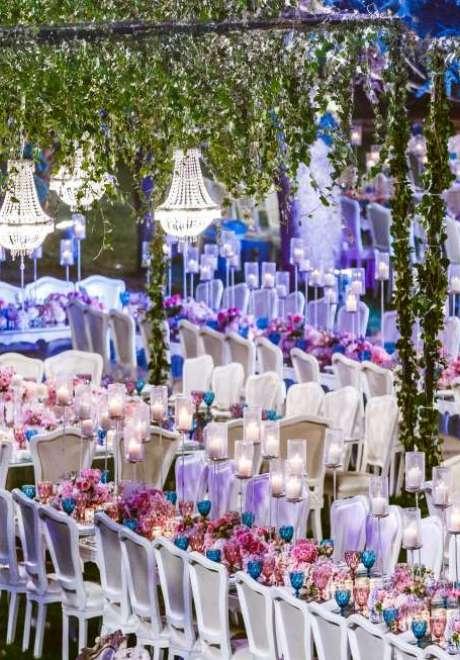 Joe and Jocelyne's Hanging Gardens Wedding in Lebanon