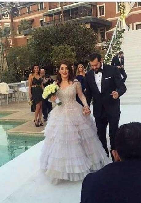 حفل زفاف كندة علوش وعمرو يوسف