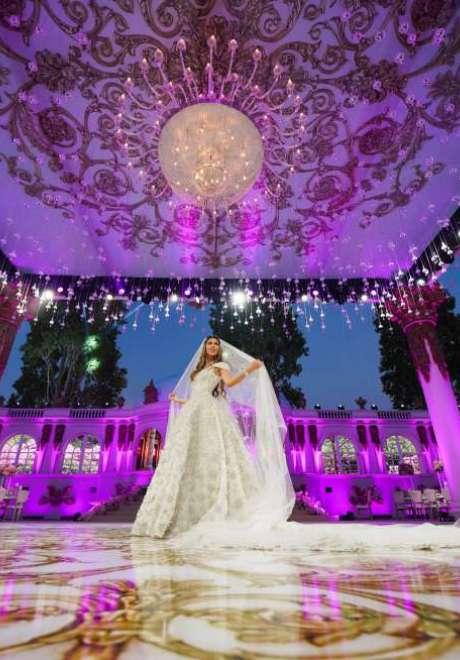 A Fairytale Wedding in Lebanon by Fadi Fattouh