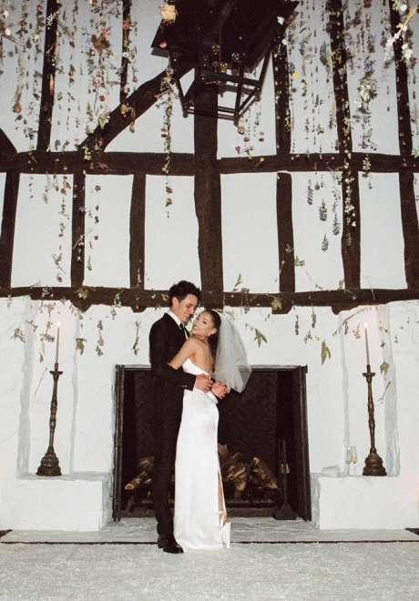Ariana Grande and Dalton Gomez Wedding