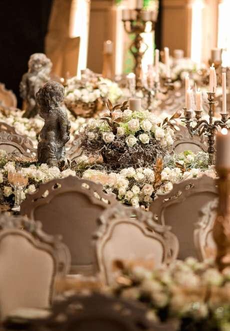 حفل زفاف مستوحى من الكولوسيوم في بيروت