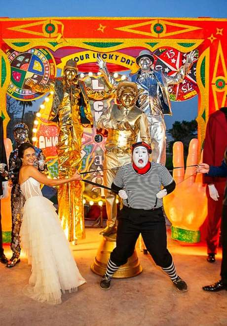 A Carnival Wedding in Egypt