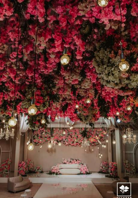 A Pink Floral Wedding in Doha