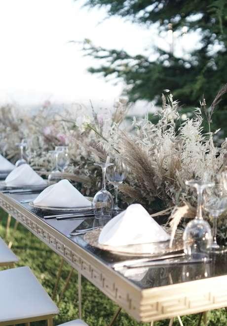 A Garden Wedding in Lebanon