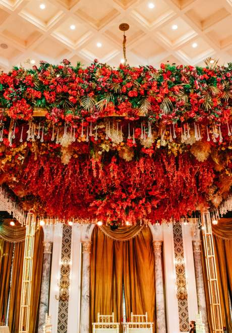 حفل زفاف هندي ضخم في دبي