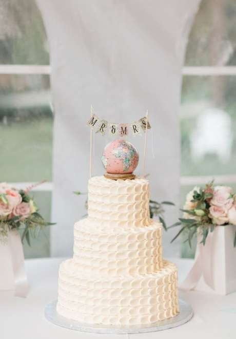 A Travel Wedding Theme for the Travel Lovers